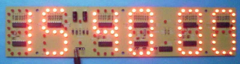 本电子钟为纯硬件电路