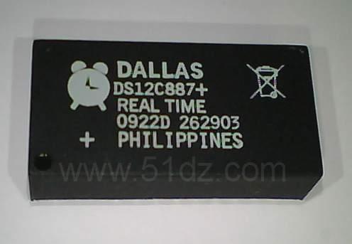 五一电子商品说明:《ds12c887高级时钟芯片