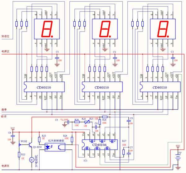 电机五个接线图解