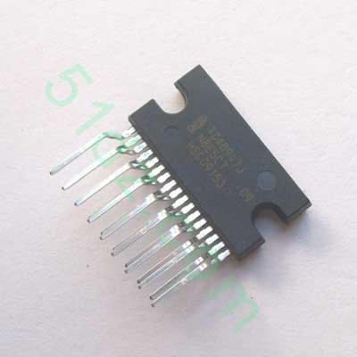 五一电子商品说明:《tda8947j四声道功放ic
