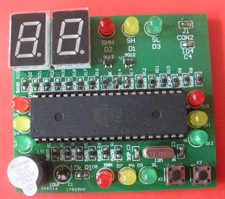 智能控制交通灯套件