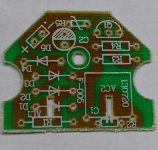印刷电路板如下图所示