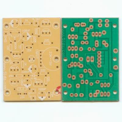五一电子商品说明:《分立otl功放电路板 》