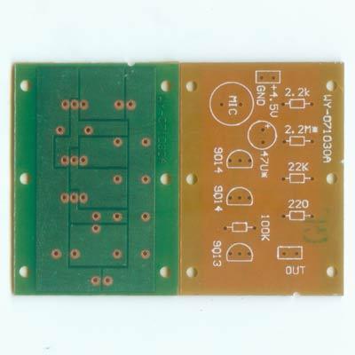 五一电子商品说明:《声控小夜灯光电路板 》