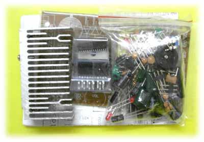 本电路板既是高保真功率放大器,又是高品质fm收音机,放音效果完全达到