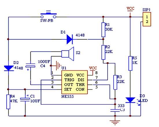 对照电路原理图