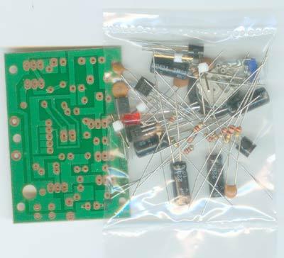 otl分立元件功放电子制作套件;;