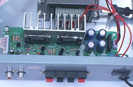 电路:分卡拉ok音调板和功放板电源两部分