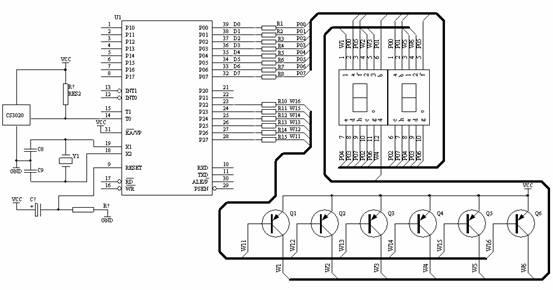 图5 测速计电路原理图
