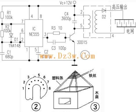 用作本电路的高反压二极管d2