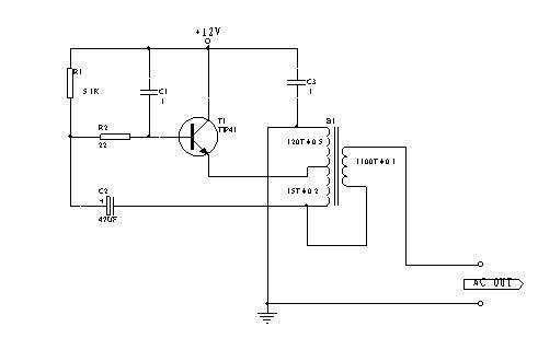一种低压单管逆变电路