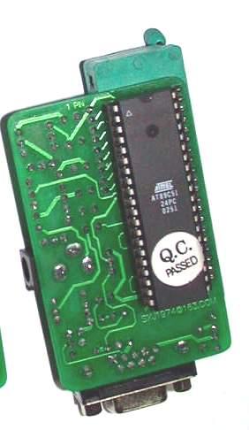 9:最后检查一下电路板的各个地方有没有插错, 短路的.